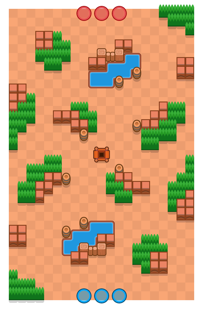 Acute Angle is a Gem Grab map in Brawl Stars.
