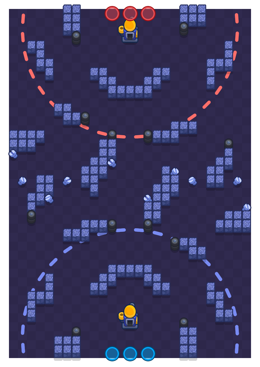 Assembly Attack is a Siege Brawl Stars map. Check out Assembly Attack's map picture for Siege and the best and recommended brawlers in Brawl Stars.