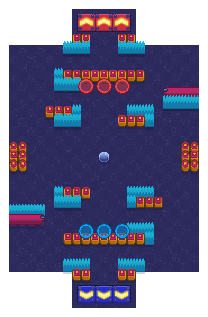 Achtertuinbowling is a Knokbal map in Brawl Stars.