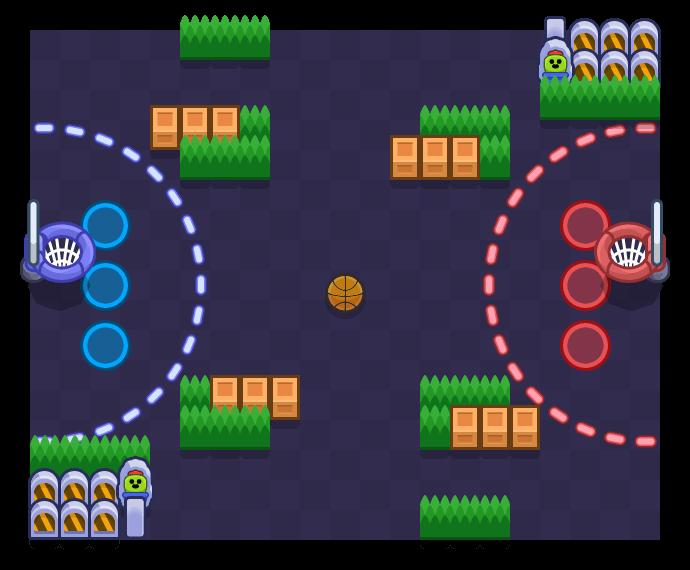 Ball Hog is a Basket Brawl map in Brawl Stars.