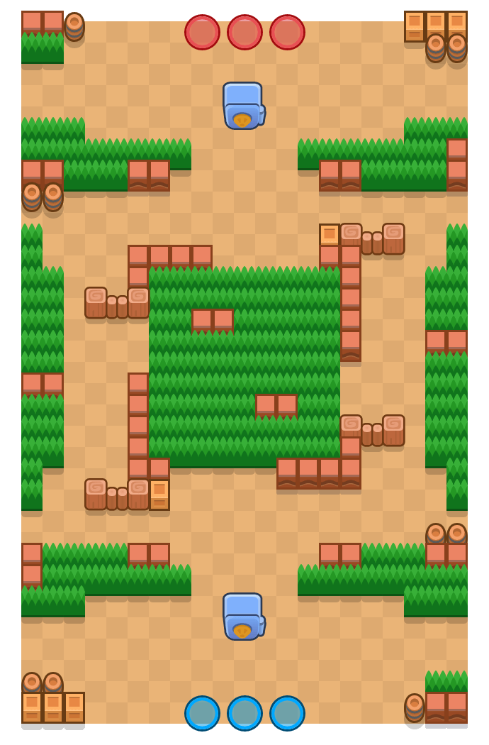 Bandit Cove is a Heist Brawl Stars map. Check out Bandit Cove's map picture for Heist and the best and recommended brawlers in Brawl Stars.