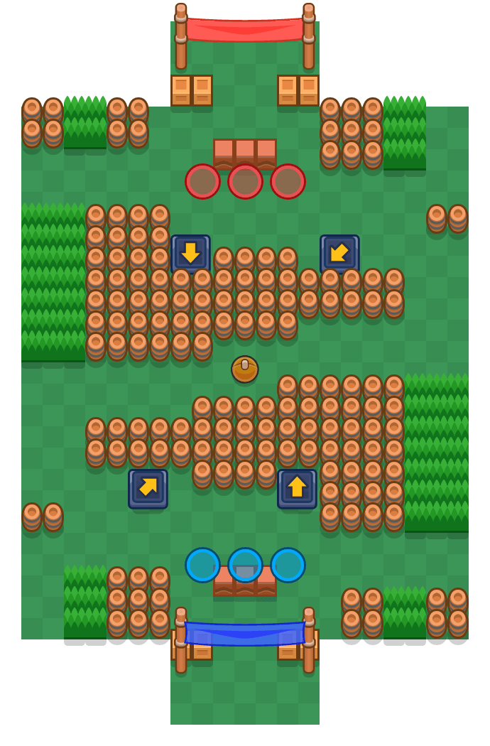 Tonnengewölbe is a Brawlball Brawl Stars map. Check out Tonnengewölbe's map picture for Brawlball and the best and recommended brawlers in Brawl Stars.