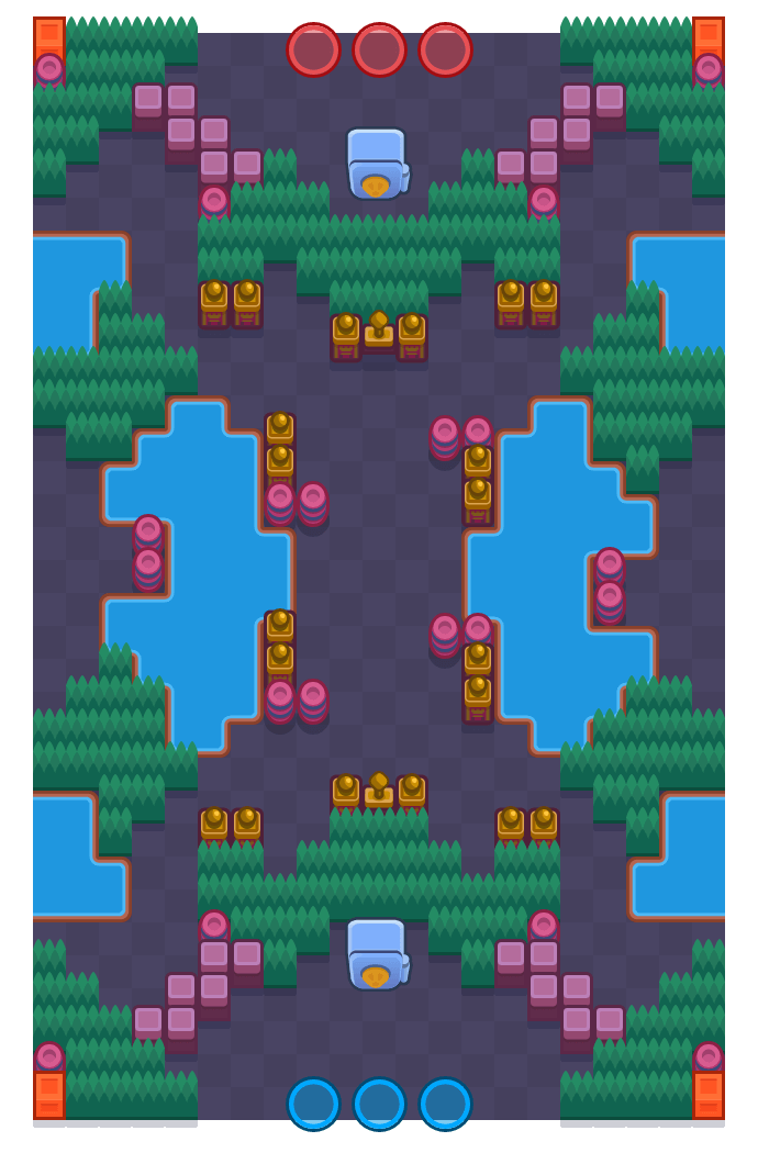 Beachcombers is a Heist Brawl Stars map. Check out Beachcombers's map picture for Heist and the best and recommended brawlers in Brawl Stars.