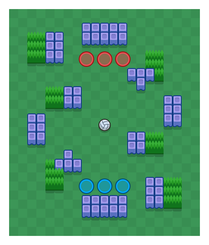 Block Party is a Volley Brawl map in Brawl Stars.