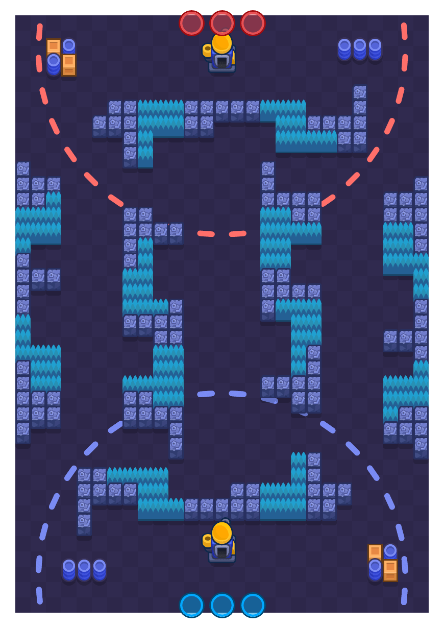 Bot Riot is a Siege Brawl Stars map. Check out Bot Riot's map picture for Siege and the best and recommended brawlers in Brawl Stars.