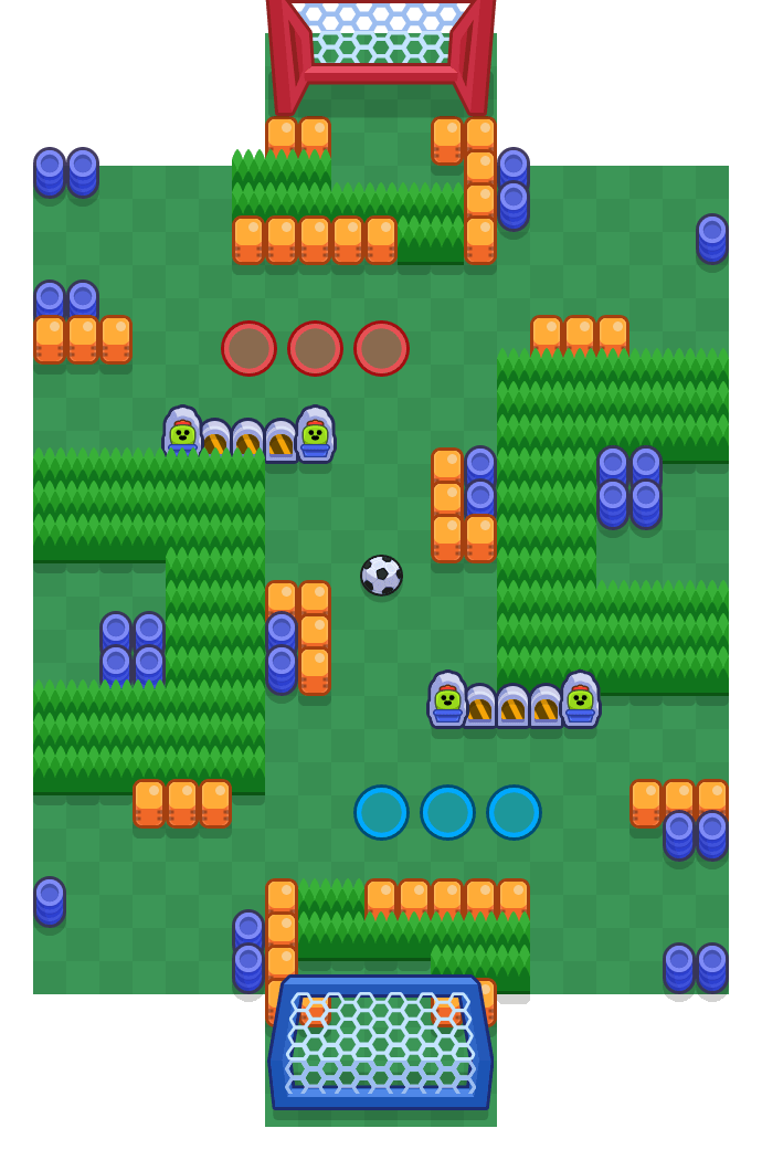 Geschenktag is a Brawlball Brawl Stars map. Check out Geschenktag's map picture for Brawlball and the best and recommended brawlers in Brawl Stars.