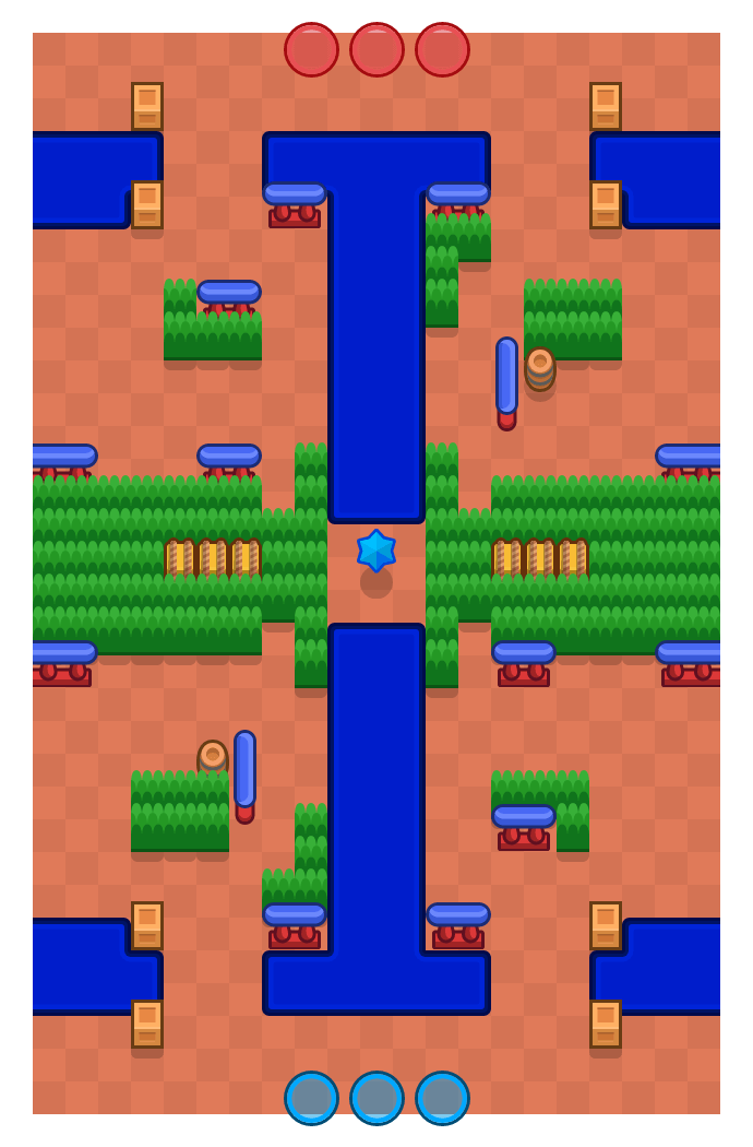 Canal Grande is a Bounty Brawl Stars map. Check out Canal Grande's map picture for Bounty and the best and recommended brawlers in Brawl Stars.