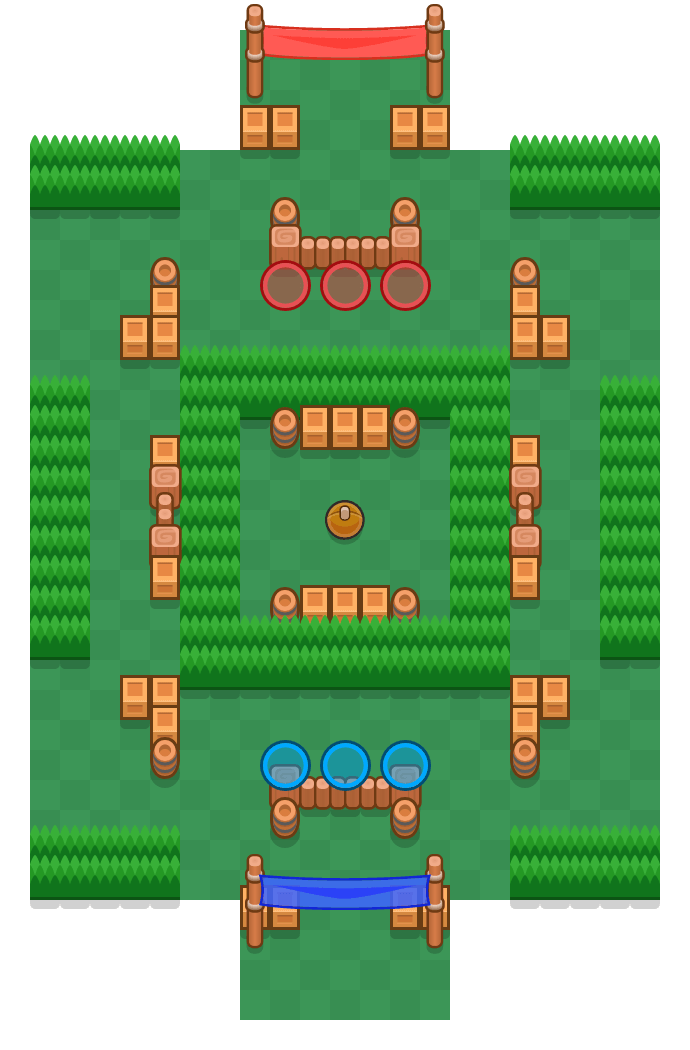 Center Stage is a Brawl Ball Brawl Stars map. Check out Center Stage's map picture for Brawl Ball and the best and recommended brawlers in Brawl Stars.