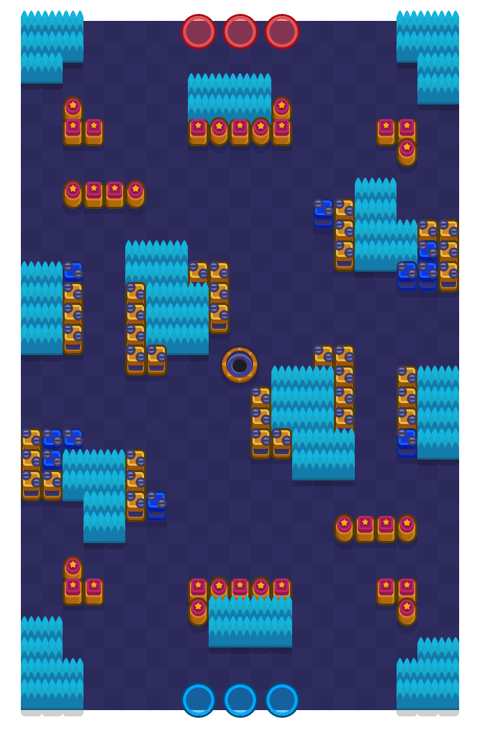 Recreatieruimte is a Edelstenengraai Brawl Stars map. Check out Recreatieruimte's map picture for Edelstenengraai and the best and recommended brawlers in Brawl Stars.