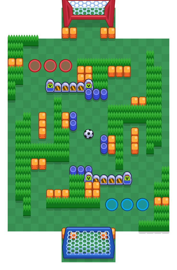 Freies Schussfeld is a Brawlball Brawl Stars map. Check out Freies Schussfeld's map picture for Brawlball and the best and recommended brawlers in Brawl Stars.