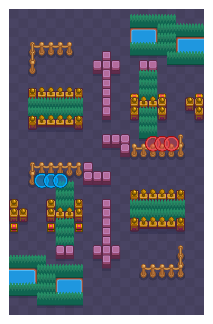 Close Call is a Knockout map in Brawl Stars.