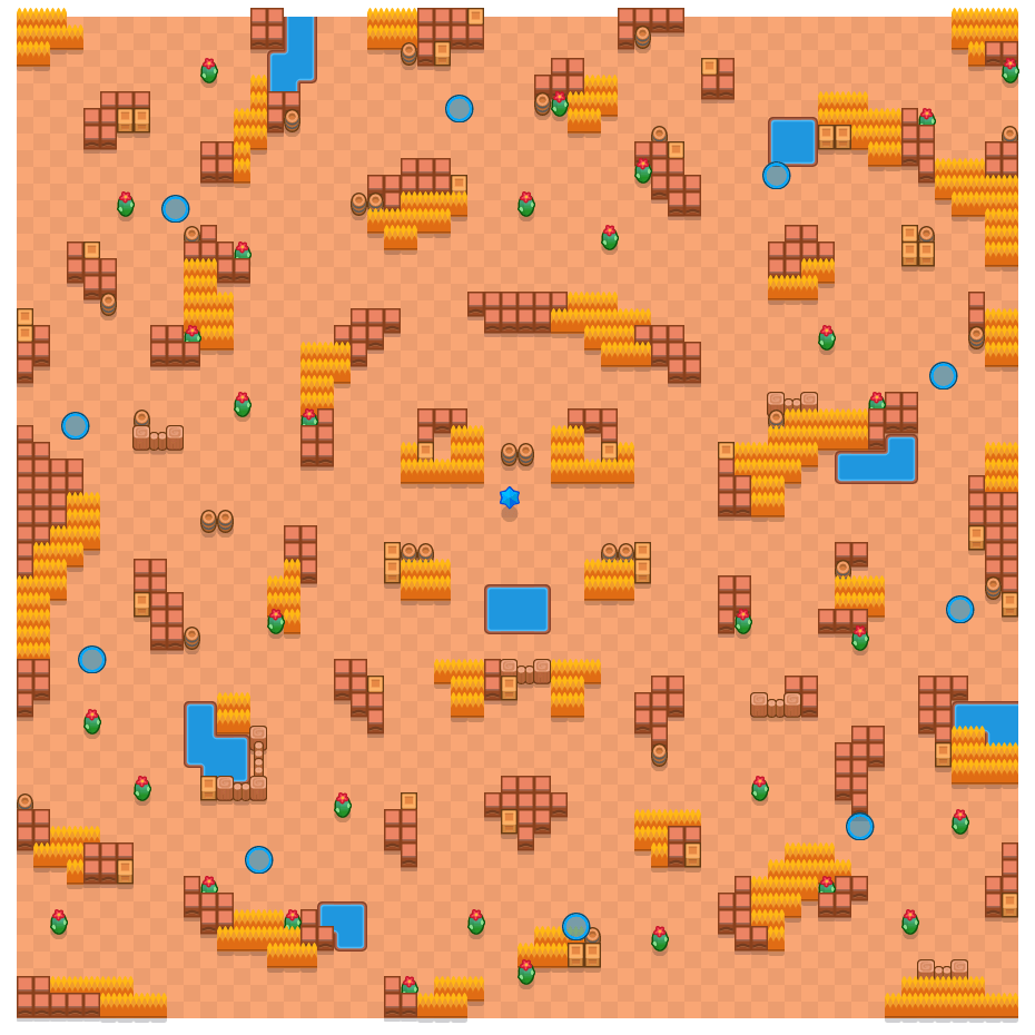 Close Call is a Lone Star map in Brawl Stars.