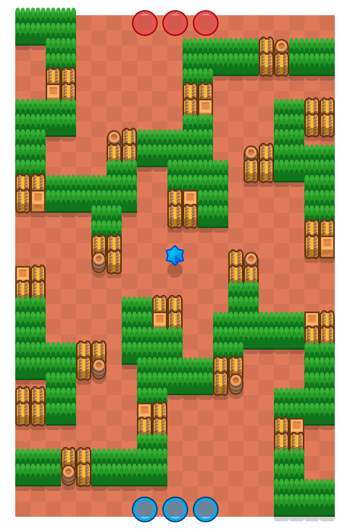 Cobweb is a Bounty map in Brawl Stars.