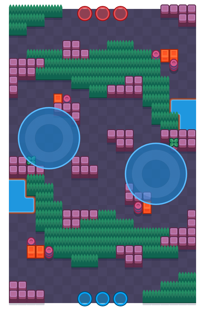Controller Chaos is a Hot Zone map in Brawl Stars.