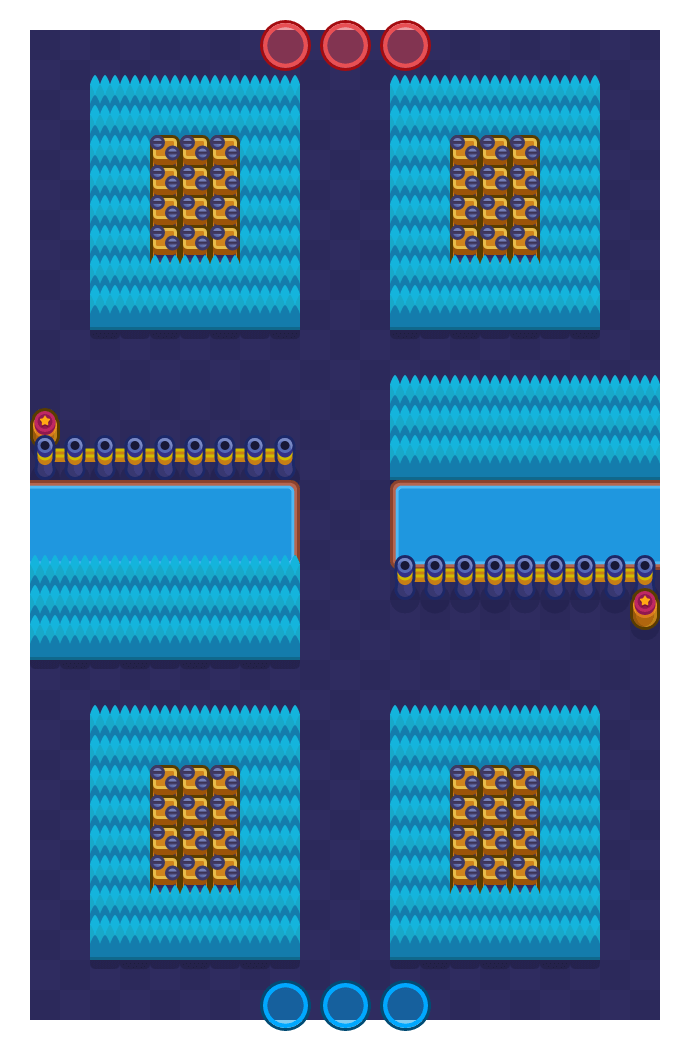 Crimewater is a Knockout map in Brawl Stars.