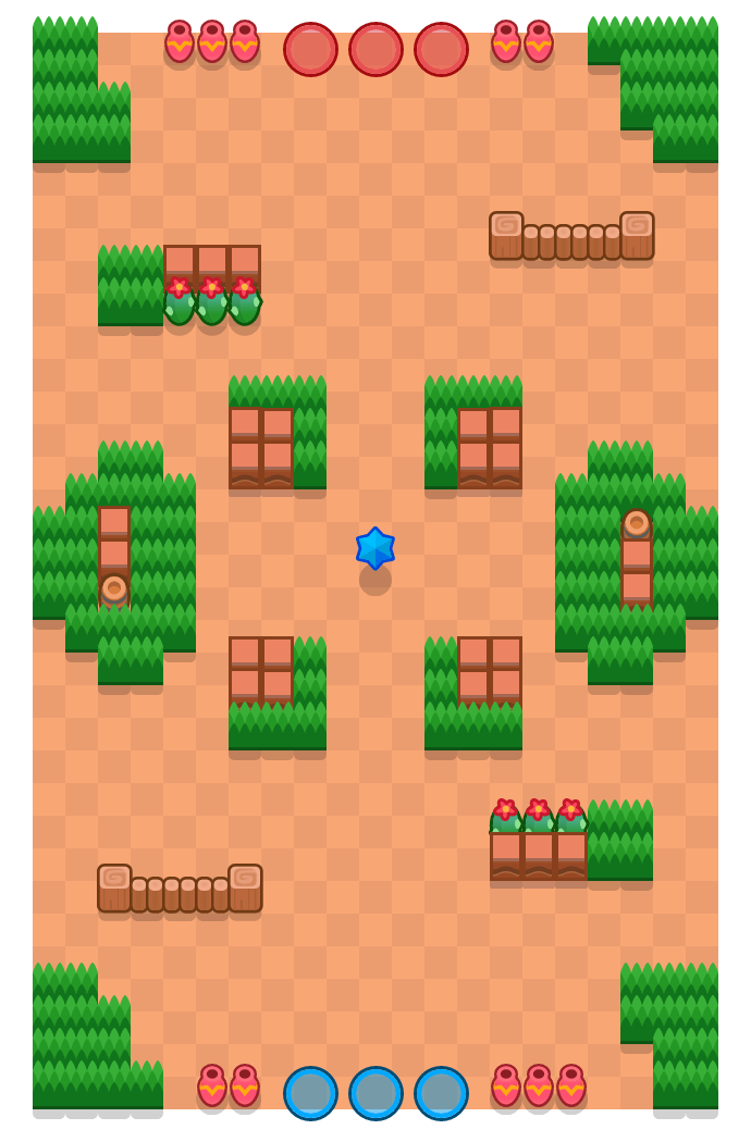 Crystal Clearing is a Bounty Brawl Stars map. Check out Crystal Clearing's map picture for Bounty and the best and recommended brawlers in Brawl Stars.