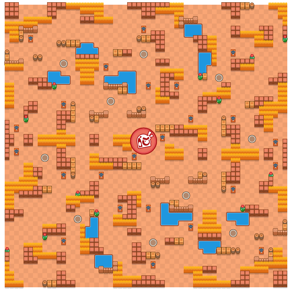 Cuckoo Coup is a Takedown Brawl Stars map. Check out Cuckoo Coup's map picture for Takedown and the best and recommended brawlers in Brawl Stars.