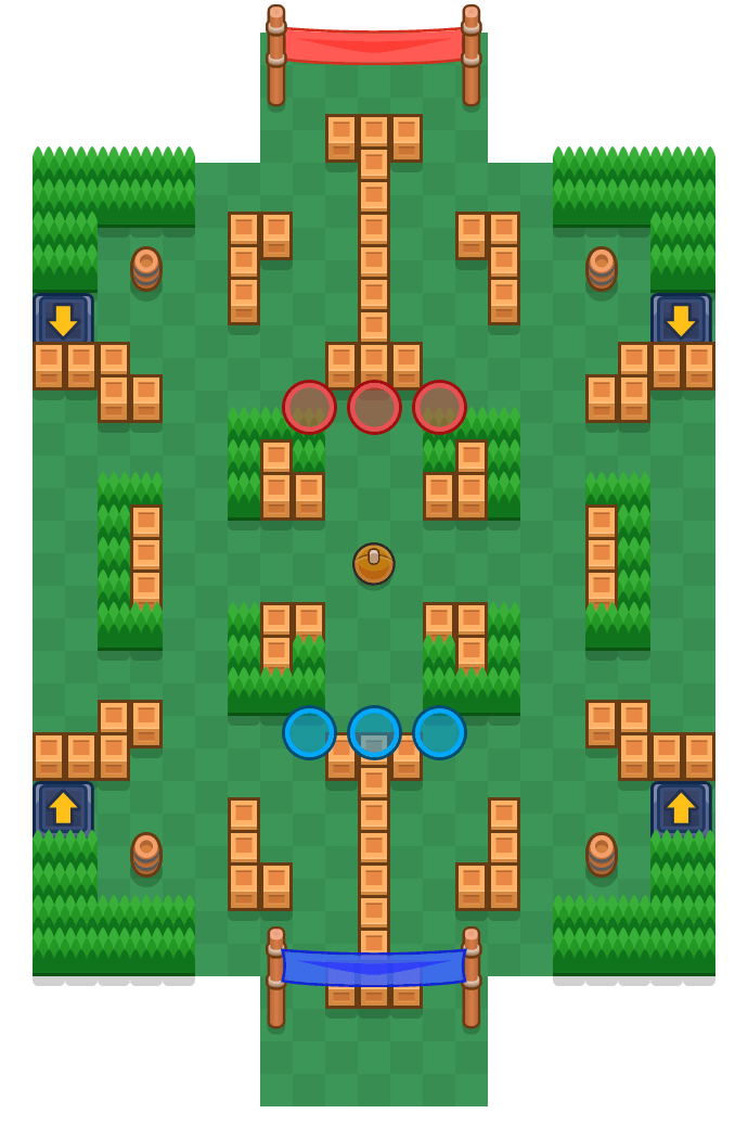 Bogenwurf is a Brawlball Brawl Stars map. Check out Bogenwurf's map picture for Brawlball and the best and recommended brawlers in Brawl Stars.
