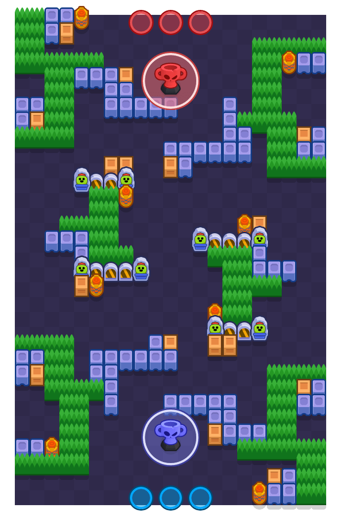 Daylight Robbery is a Trophy Thieves map in Brawl Stars.