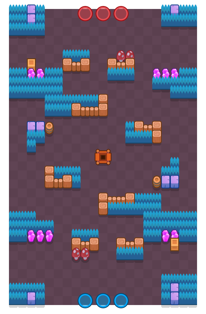Deathcap Trap is a Gem Grab Brawl Stars map. Check out Deathcap Trap's map picture for Gem Grab and the best and recommended brawlers in Brawl Stars.