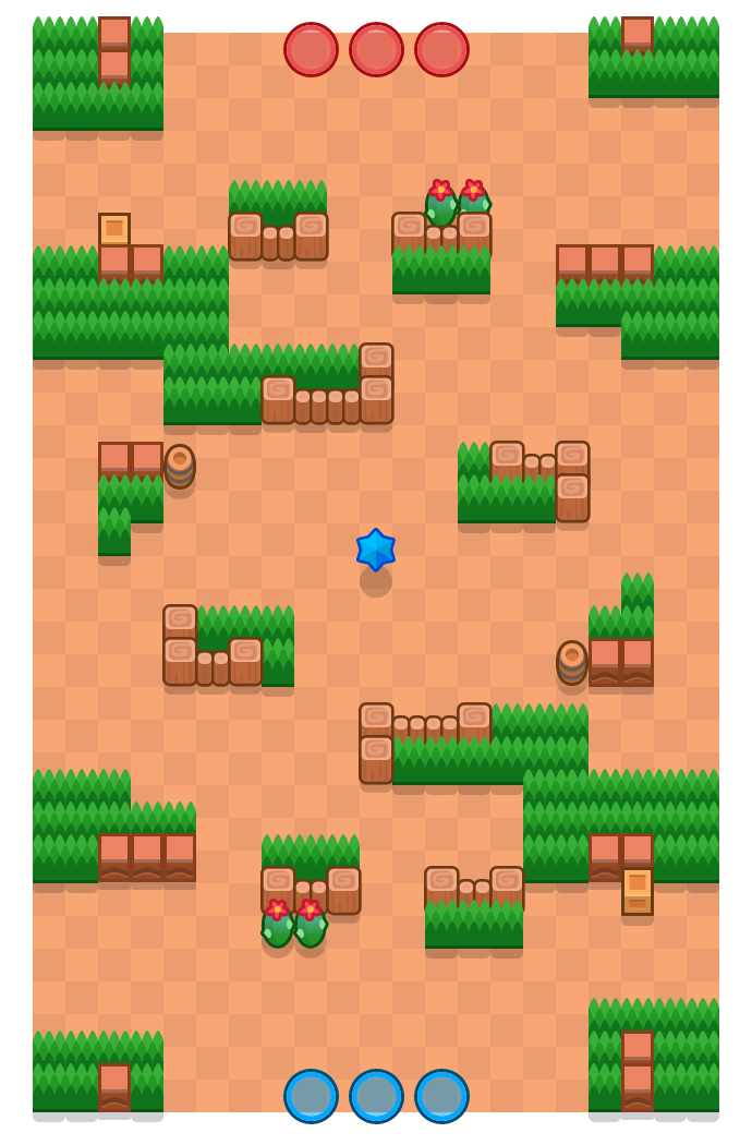 Deathcap Trap is a Bounty Brawl Stars map. Check out Deathcap Trap's map picture for Bounty and the best and recommended brawlers in Brawl Stars.