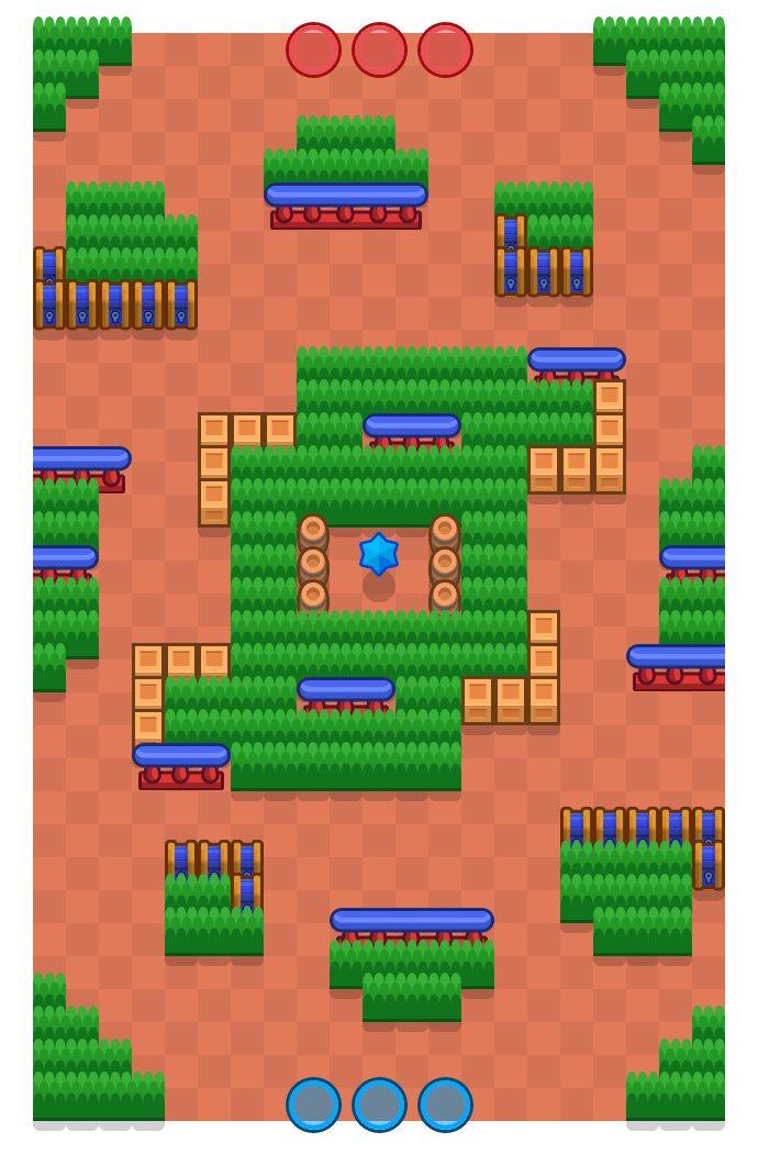 Deeper Danger is a Bounty map in Brawl Stars.