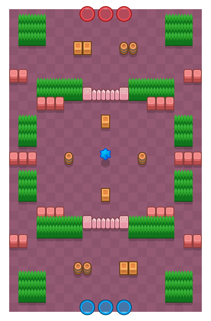 Dry Season is a Bounty Brawl Stars map. Check out Dry Season's map picture for Bounty and the best and recommended brawlers in Brawl Stars.