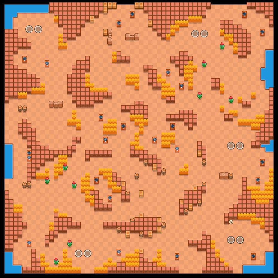 Çöl Yarışı is a Çi̇ft Hesaplaşma map in Brawl Stars.