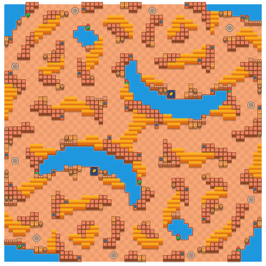 Eggshell is a Solo Showdown Brawl Stars map. Check out Eggshell's map picture for Solo Showdown and the best and recommended brawlers in Brawl Stars.