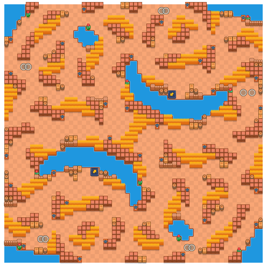 Eggshell is a Duo Showdown Brawl Stars map. Check out Eggshell's map picture for Duo Showdown and the best and recommended brawlers in Brawl Stars.