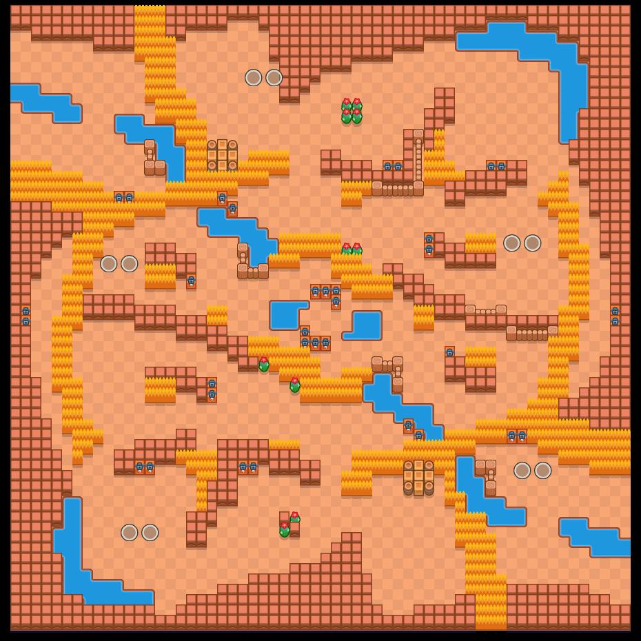 風暴之眼 is a 雙人荒野生死鬥 map in Brawl Stars.