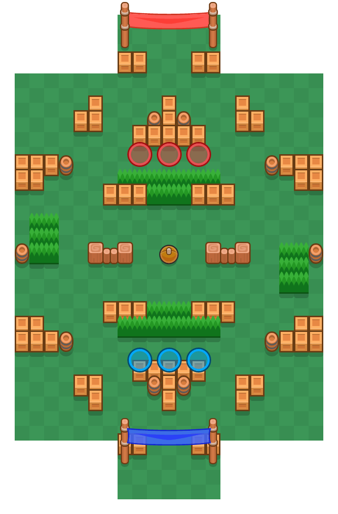 Fast Fork is a Brawl Ball map in Brawl Stars.