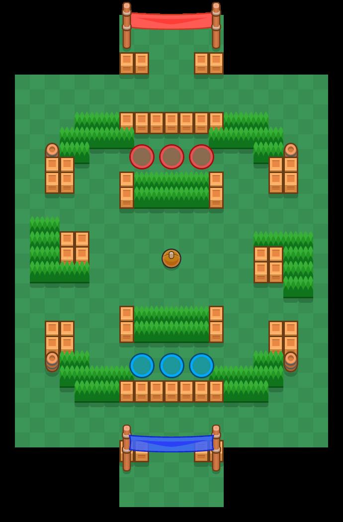 Field Goal is a Brawl Ball map in Brawl Stars.