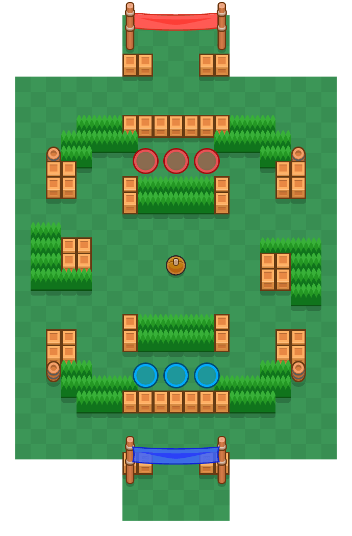 Field Goal is a Brawl Ball map in Brawl Stars.