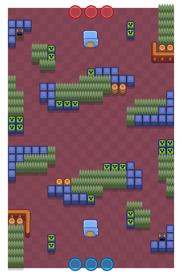 Figure 8 is a Heist Brawl Stars map. Check out Figure 8's map picture for Heist and the best and recommended brawlers in Brawl Stars.