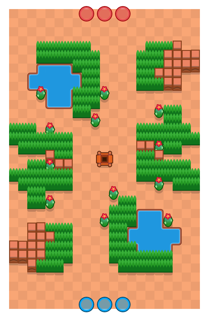 Flooded Mine is a Gem Grab Brawl Stars map. Check out Flooded Mine's map picture for Gem Grab and the best and recommended brawlers in Brawl Stars.