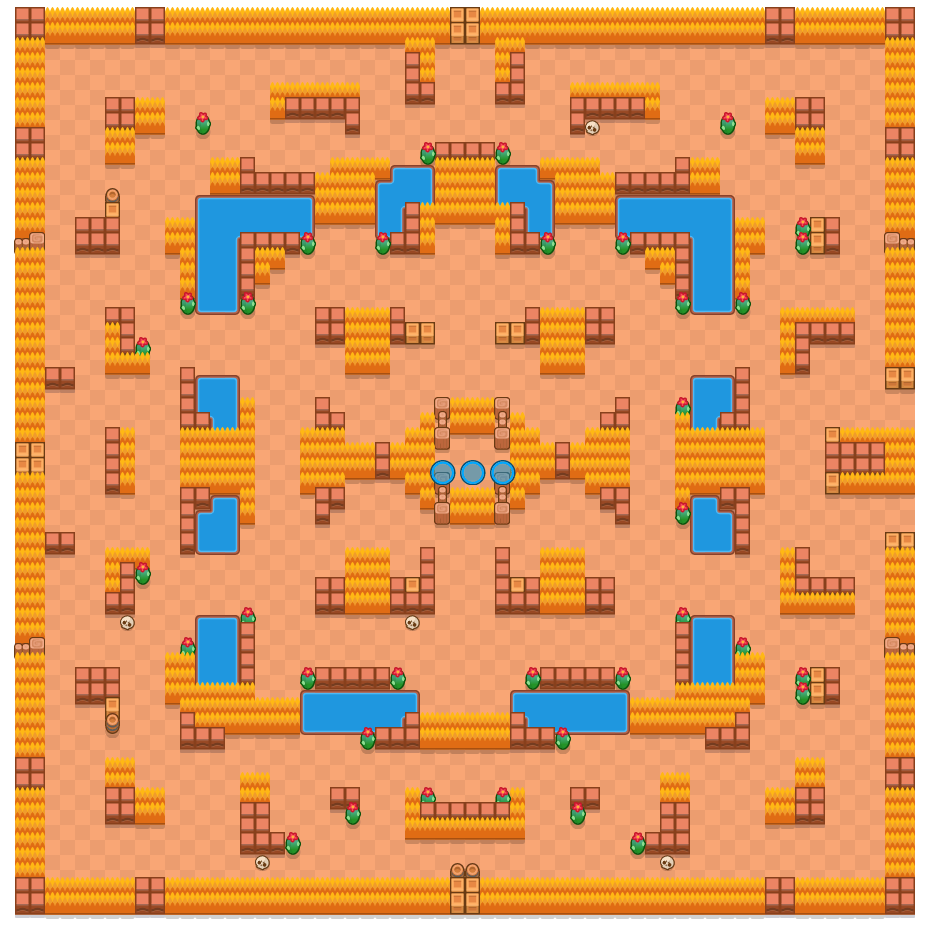 Absoluto is a Caos Cibernético map in Brawl Stars.