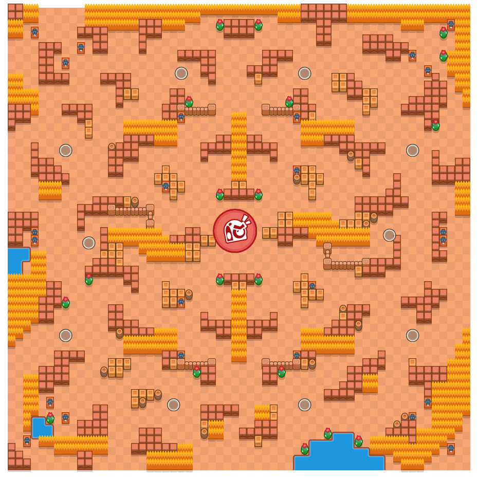 Funky Punk is a Takedown Brawl Stars map. Check out Funky Punk's map picture for Takedown and the best and recommended brawlers in Brawl Stars.