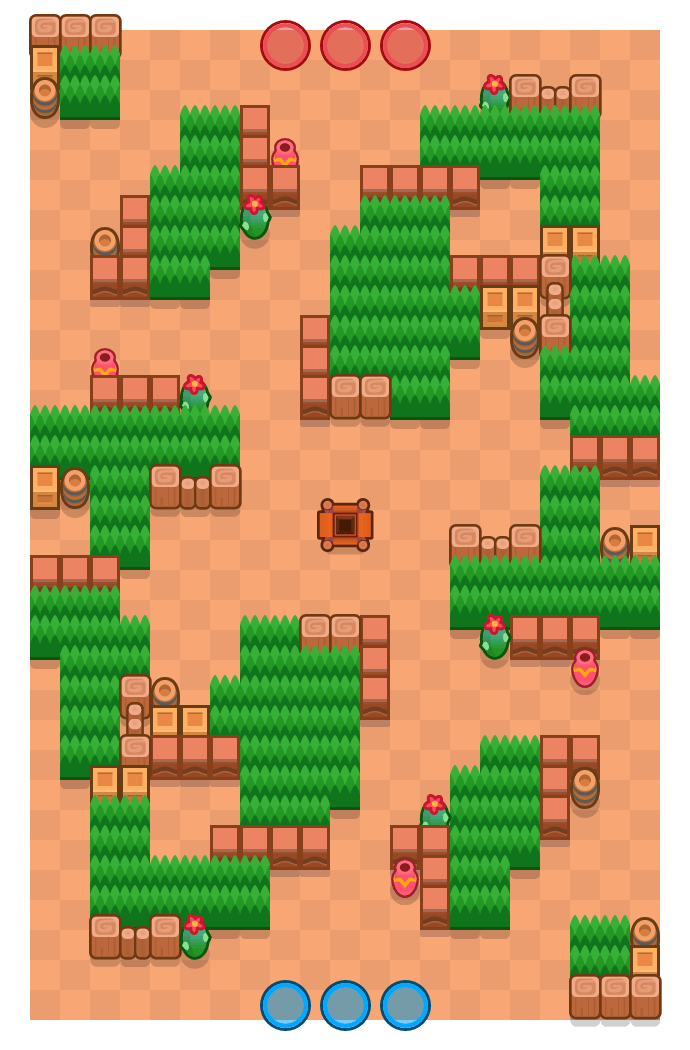 Groen dek is a Edelstenengraai Brawl Stars map. Check out Groen dek's map picture for Edelstenengraai and the best and recommended brawlers in Brawl Stars.