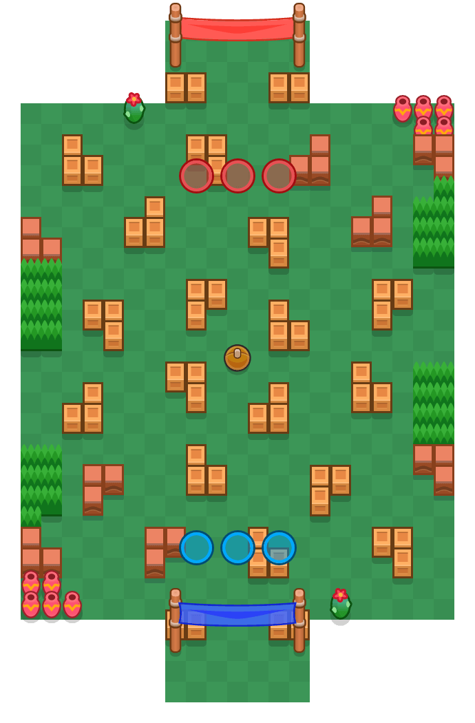 Happy Feet is a Brawl Ball Brawl Stars map. Check out Happy Feet's map picture for Brawl Ball and the best and recommended brawlers in Brawl Stars.