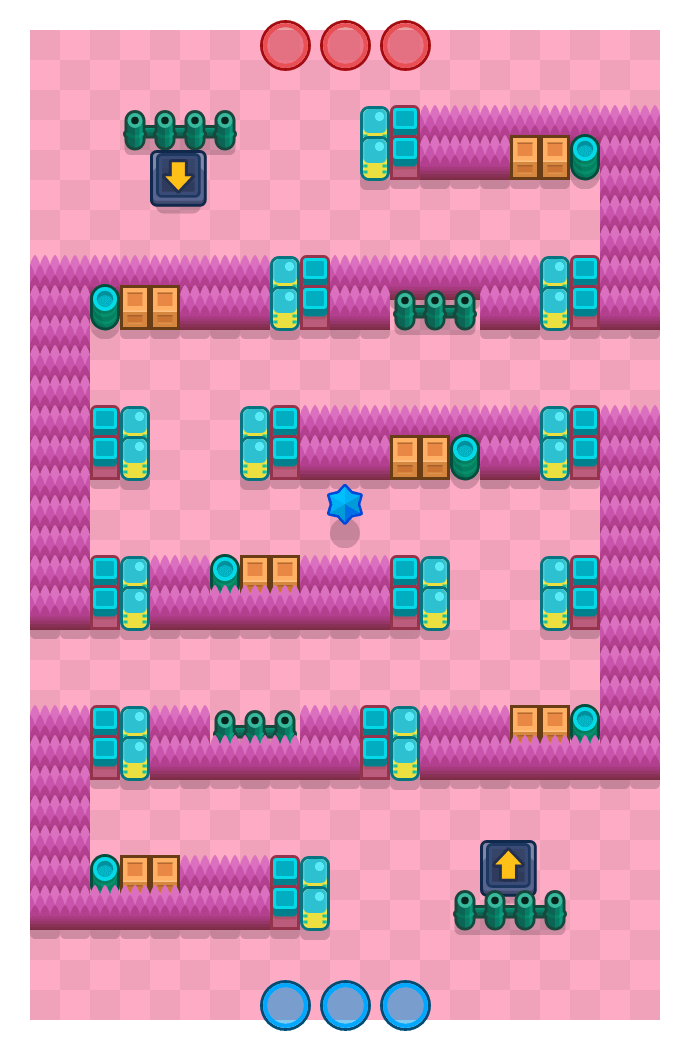 Heat Wave is a Bounty Brawl Stars map. Check out Heat Wave's map picture for Bounty and the best and recommended brawlers in Brawl Stars.