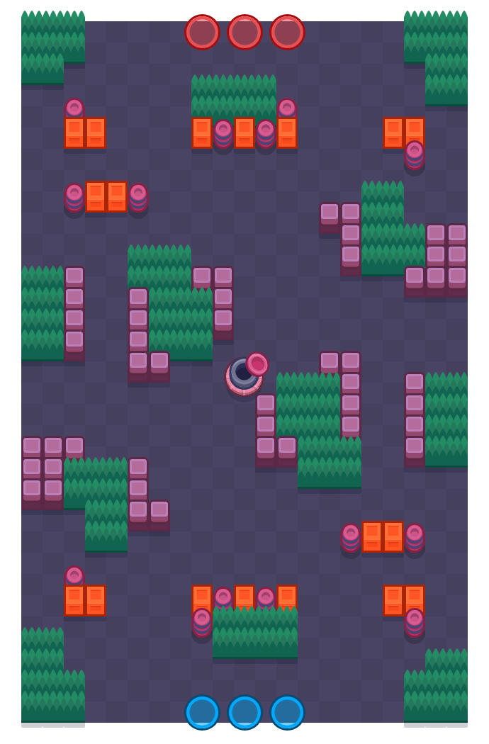 Holiday Chill is a Gem Grab Brawl Stars map. Check out Holiday Chill's map picture for Gem Grab and the best and recommended brawlers in Brawl Stars.