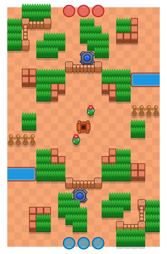 Hink-stap-sprong is a Edelstenengraai Brawl Stars map. Check out Hink-stap-sprong's map picture for Edelstenengraai and the best and recommended brawlers in Brawl Stars.