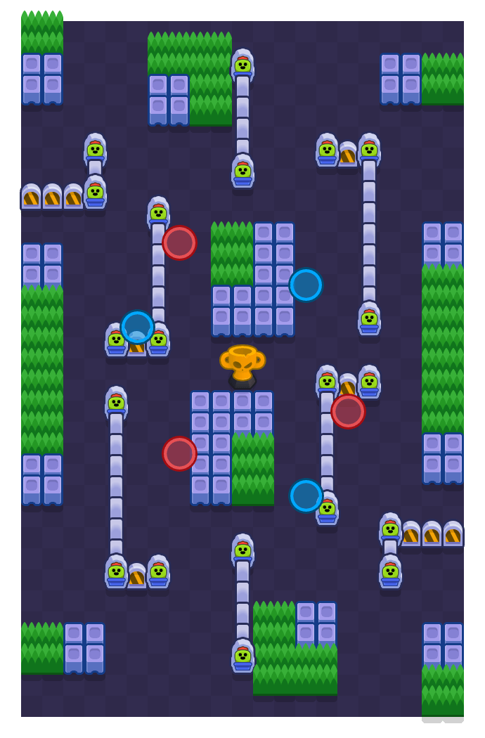 In The Mix is a Hold The Trophy map in Brawl Stars.