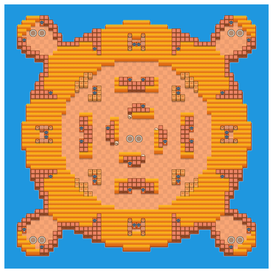 Island Invasion is a Duo Showdown Brawl Stars map. Check out Island Invasion's map picture for Duo Showdown and the best and recommended brawlers in Brawl Stars.