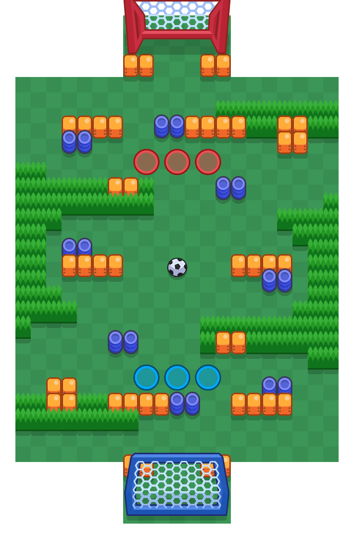 Jumping Beans is a Brawl Ball map in Brawl Stars.
