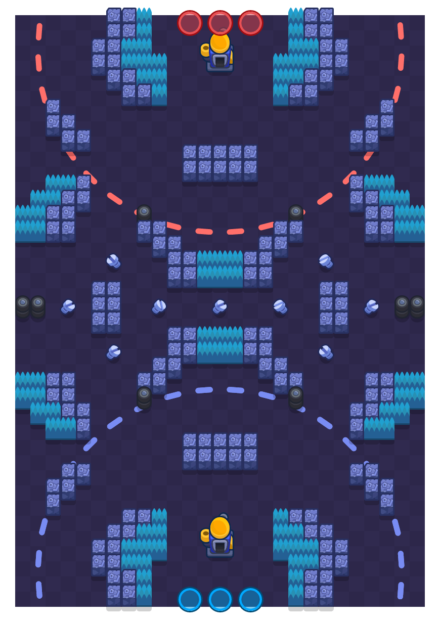 Junk Park is a Siege Brawl Stars map. Check out Junk Park's map picture for Siege and the best and recommended brawlers in Brawl Stars.