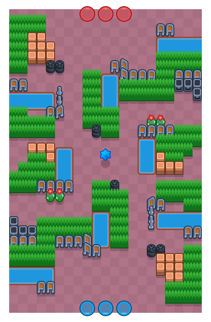 Terre en vue is a Prime map in Brawl Stars.