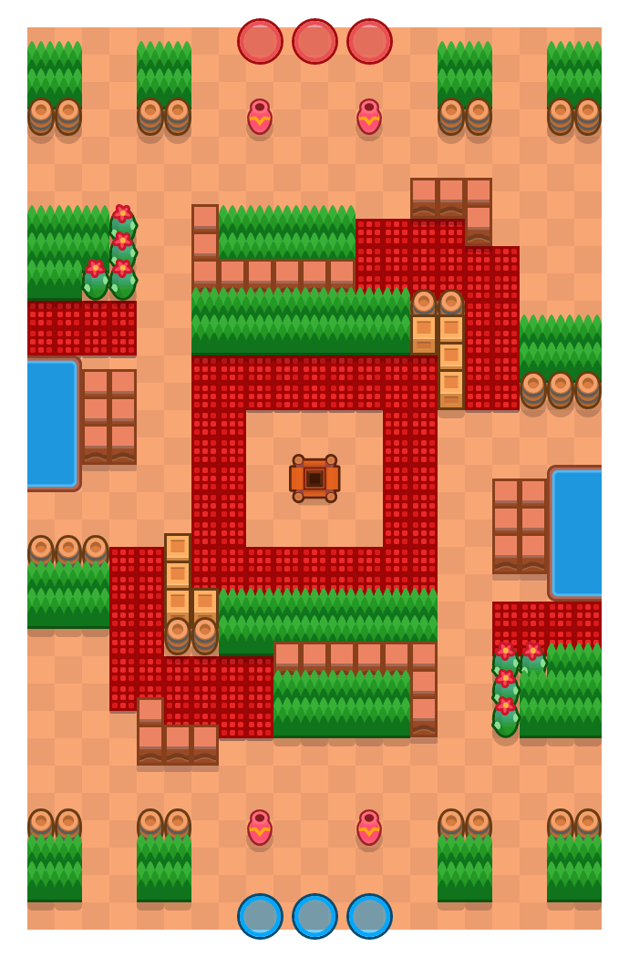 Strooptocht is a Edelstenengraai Brawl Stars map. Check out Strooptocht's map picture for Edelstenengraai and the best and recommended brawlers in Brawl Stars.