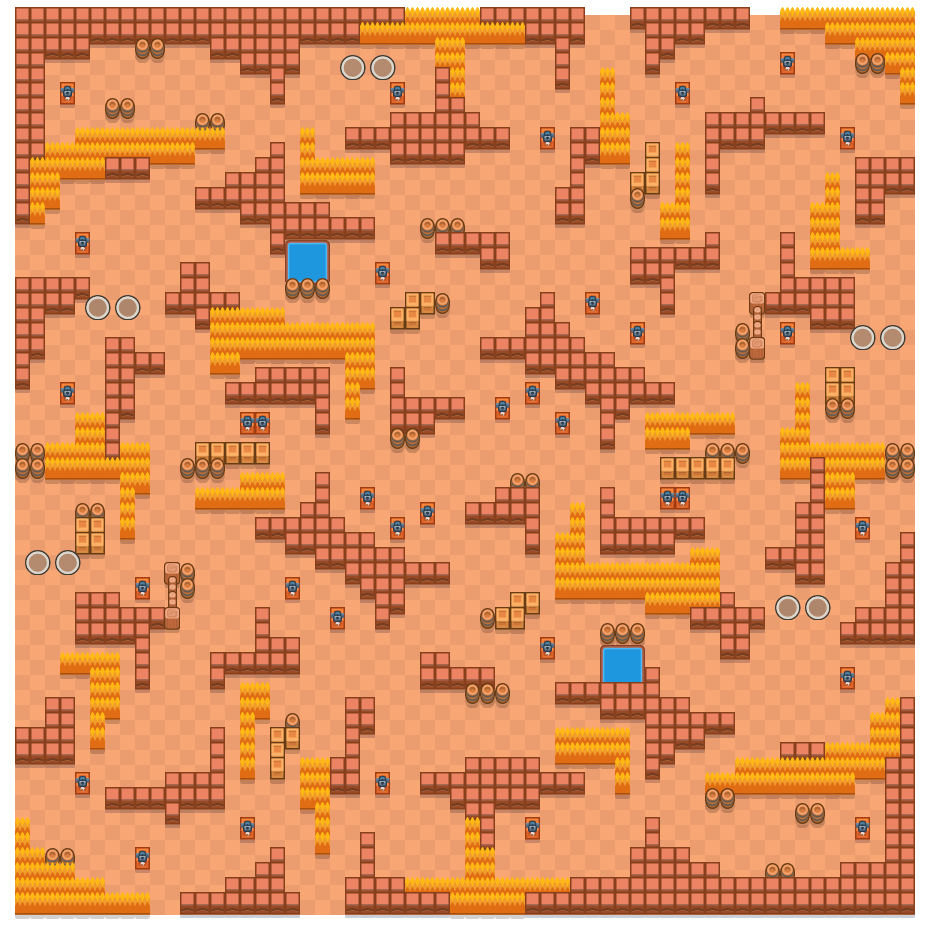 Mystinen kosketus is a Kaksinpeliselkkaus Brawl Stars map. Check out Mystinen kosketus's map picture for Kaksinpeliselkkaus and the best and recommended brawlers in Brawl Stars.